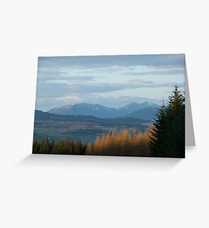 Southern Highlands of Scotland Greeting Card