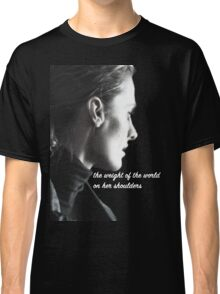 Kate Beckett weight of the world Classic T-Shirt