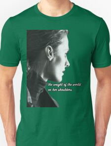 Kate Beckett weight of the world T-Shirt