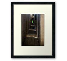 Light of joy Framed Print