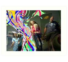 String the New Bling (Warning: Adverse Reactions) Art Print