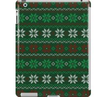 Poinsettia Christmas Sweater iPad Case/Skin
