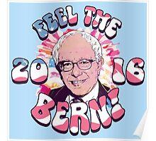 Bernie Sanders Feel The Bern Poster