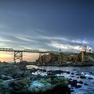 Cape Arago Lighthouse by Avena Singh