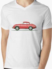 Porsche 356 B Karmann Hardtop Coupe Mens V-Neck T-Shirt