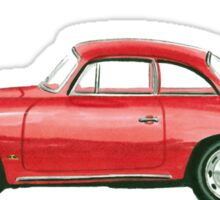 Porsche 356 B Karmann Hardtop Coupe Sticker