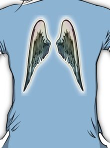 ANGEL, WINGS, Flight, Fly, Angel, Angelic, Angelology, Air Force, Jets T-Shirt