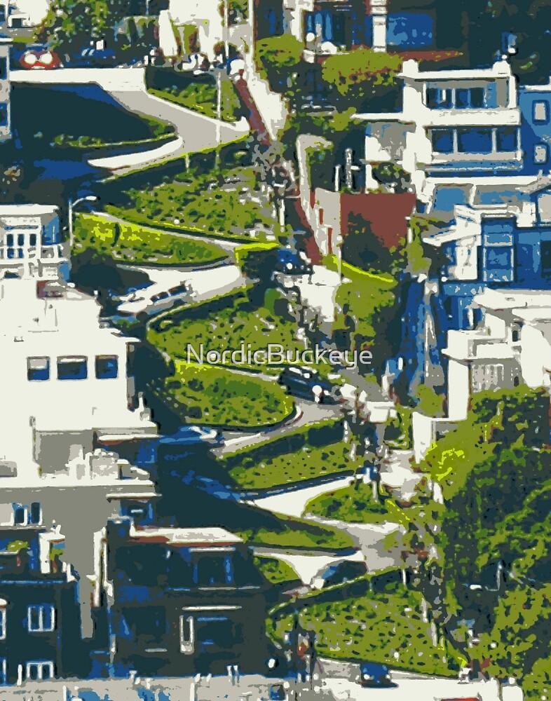 Lombard Street by NordicBuckeye
