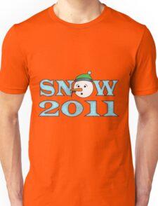 Snow 2011 Unisex T-Shirt