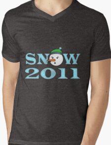 Snow 2011 Mens V-Neck T-Shirt