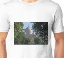 The Taj amongst the trees. Unisex T-Shirt