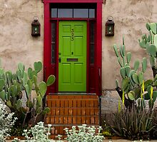 323 ~ Green Door by Lucinda Walter