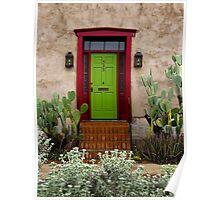 323 ~ Green Door Poster
