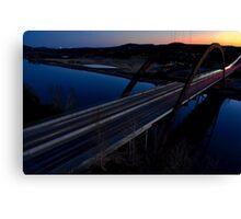 HDR 360 Bridge After Sunset 2011 Canvas Print
