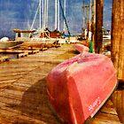 Pink Canoe by Lynnette Peizer