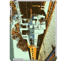 Railroad in Old Town iPad Case/Skin