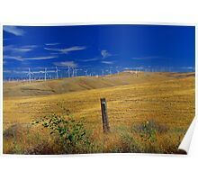 Windmills in the Hills Poster