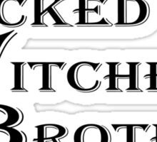Wicked Witches' Brothel Sticker