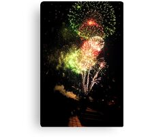 Fourth of July Fireworks Canvas Print