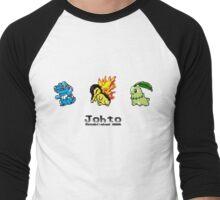 Retro Johto Starters Men's Baseball ¾ T-Shirt