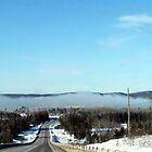 Winter Fog Phenomenon at -34C by loralea