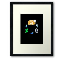 Furry Search History Framed Print
