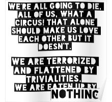Bukowski quotes Poster