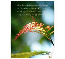 Religous Nature Photo I Poster