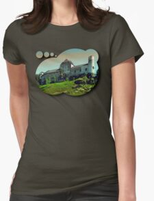 Waldenfels castle Womens Fitted T-Shirt