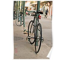 French Quarter Bicycle Poster