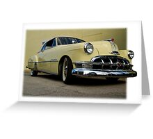 1950 Pontiac  Greeting Card