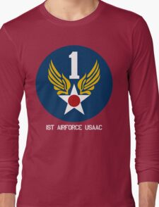 1st Airforce Emblem Long Sleeve T-Shirt
