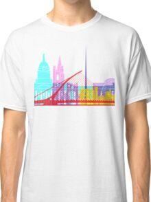 Dublin skyline pop Classic T-Shirt