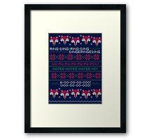 How Does a Fox Knit? Framed Print