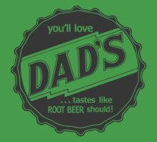 Dad's Root Beer One Piece - Short Sleeve