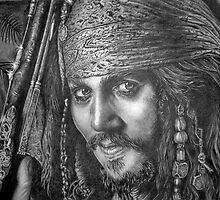 """Johnny Depp-Pirates of the Carribean"" by paulcardenas"