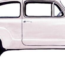 Fiat 600 Sticker