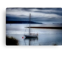 Shimmering Sea Canvas Print
