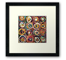 Cakes on cakes on cakes Framed Print
