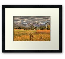True Colours - Capertee Valley, Australia  - The HDR Experience Framed Print