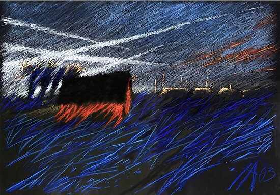 sky streams by HannaAschenbach