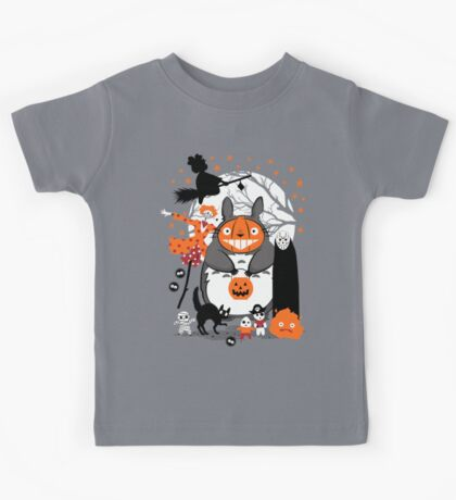 Creatures of the Night Spooky Color Option Kids Tee