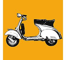 Scooter motorcycle classic Photographic Print