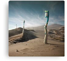 Trail of dentist Canvas Print