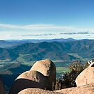 High Country from Mt Buffalo, Victoria by Bruce Langdon