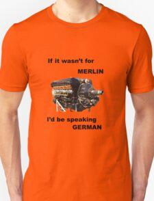 Ode to Rolls Royce Merlin Engine T-Shirt