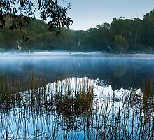 Lake Catani, Mt Buffalo, Victoria, Australia by Bruce Langdon