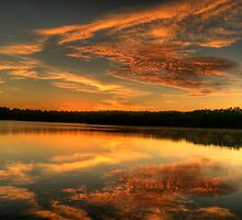 Angels On High - Narrabeen Lakes, Sydney - The HDR Experience by Philip Johnson