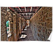 Castle gallery (Manzanares el Real) Poster
