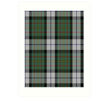 00313 MacLaren Clan/Family Dress Dance Tartan  Art Print